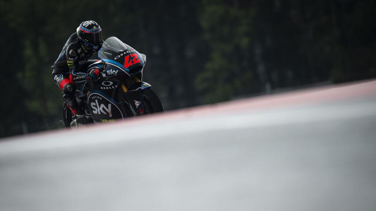 Francesco Bagnaia lors des essais libres du Grand Prix d'Autriche 2018