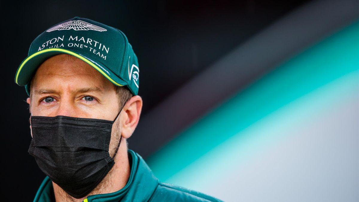Sebastian Vettel startet von Platz 13 ins Rennen in Imola
