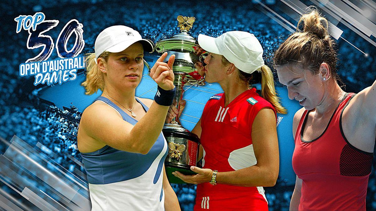 Le Top 50 de l'Open d'Australie (Dames) - 2e partie