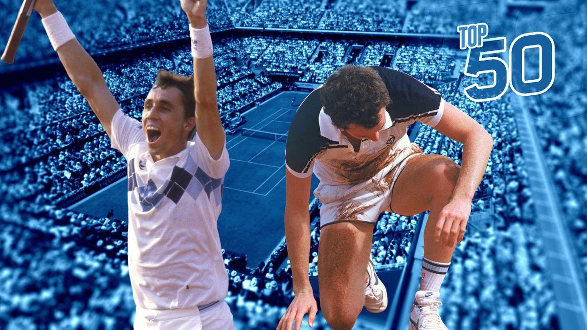 Ivan Lendl - John McEnroe - 1984.