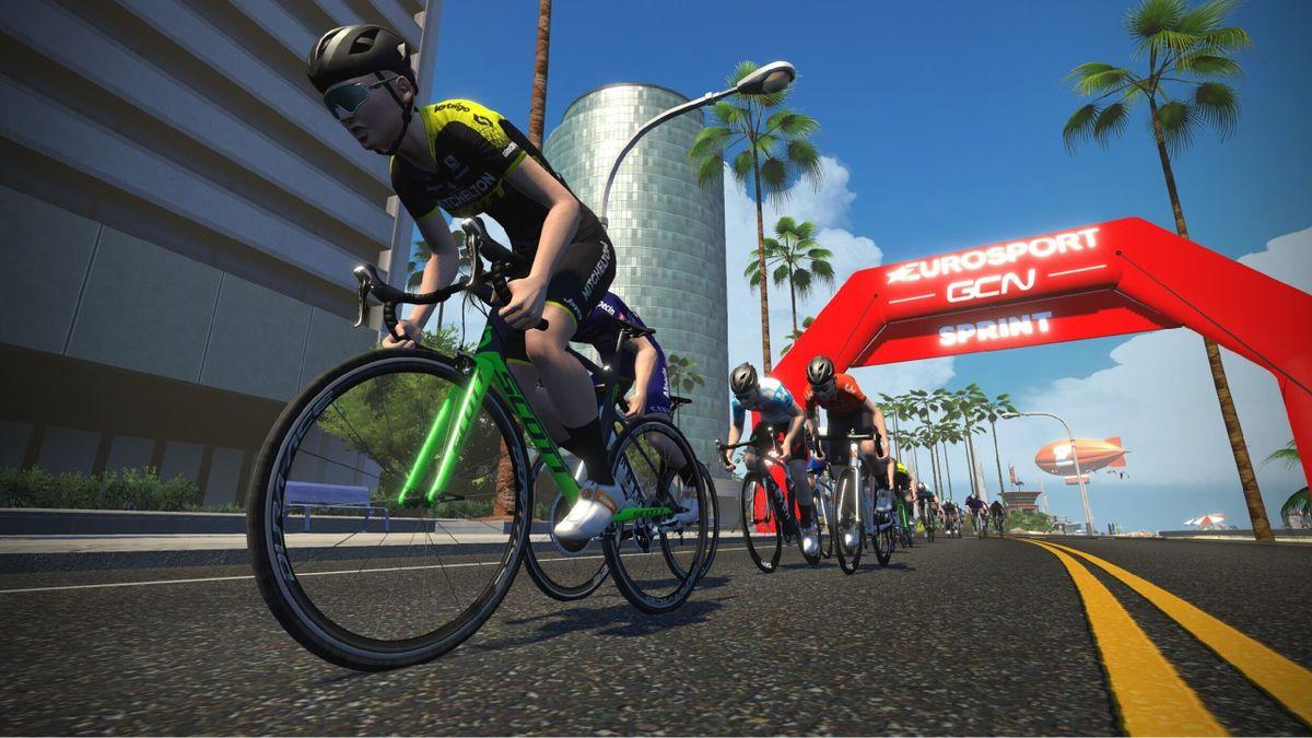 Mathieu van der Poel headlines Zwift 'Tour for All' on Eurosport and GCN