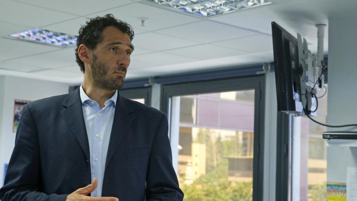 Jorge Garbajosa, nuevo presidente de la FEB