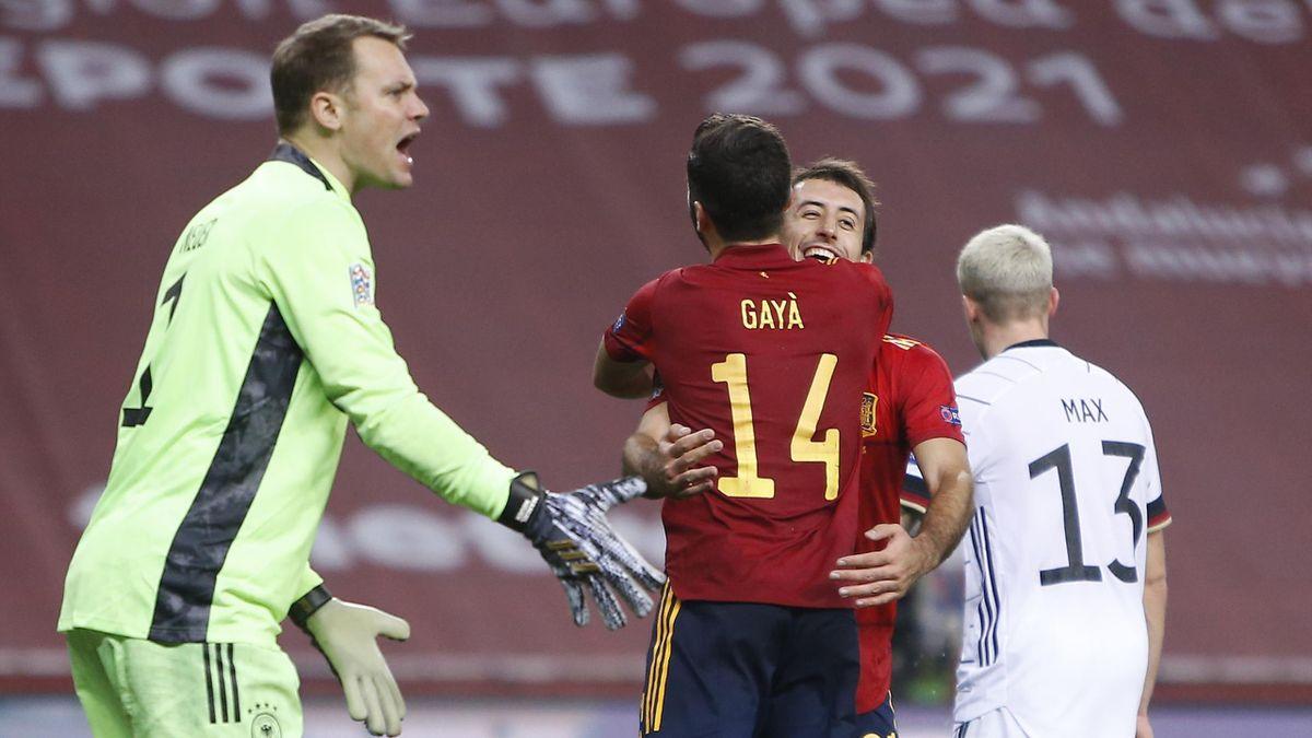 Spania - Germania 6-0