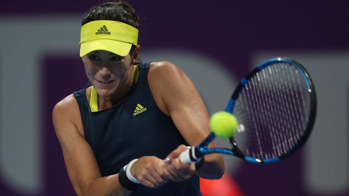 Garbiñe Muguruza perdió la final del WTA 500 de Doha frente a Petra Kvitova