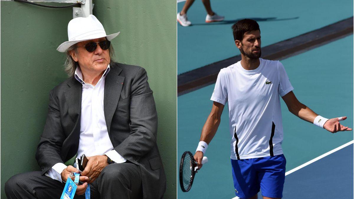 Ilie Năstase & Novak Djokovic