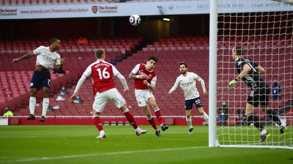 Arsenal - Manchester City 0-1, Premier League