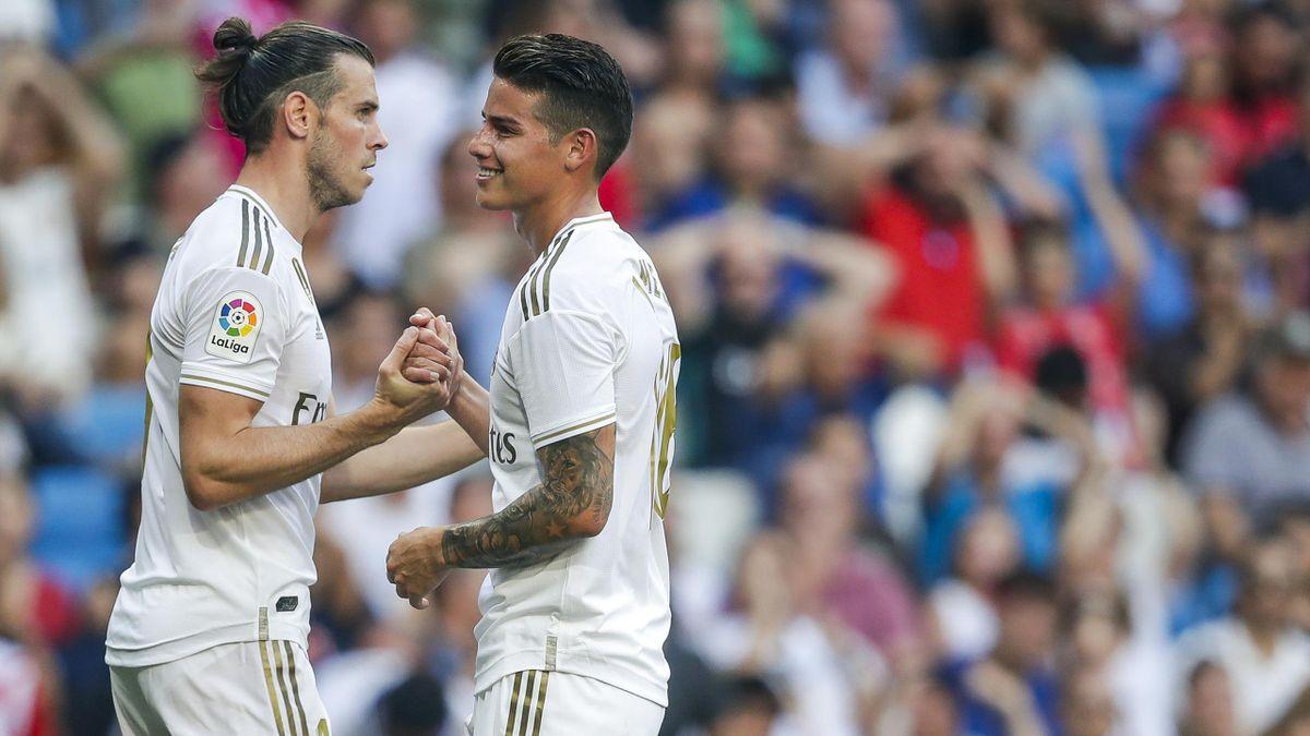 Gareth Bale und James Rodríguez