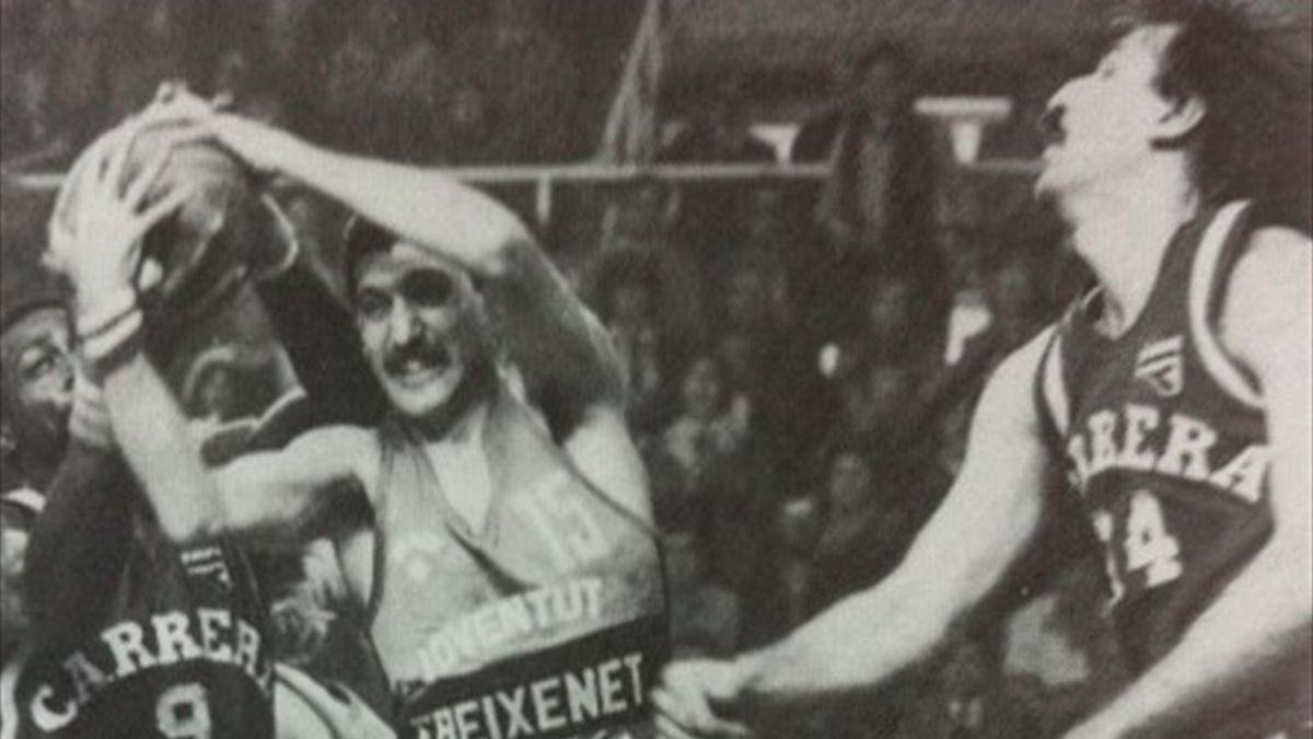 Spencer Haywood, Joe Galvin, Reyer Venezia-Joventut Badalona, Korac Cup 1981