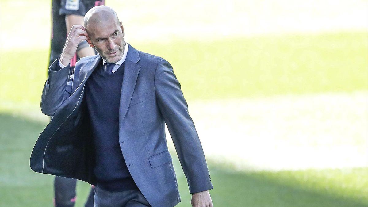 Зинедин Зидан, главный тренер мадридского «Реала»