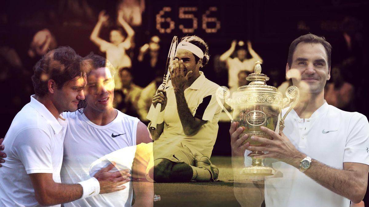 Roger Federer et ses 11 finales à Wimbledon
