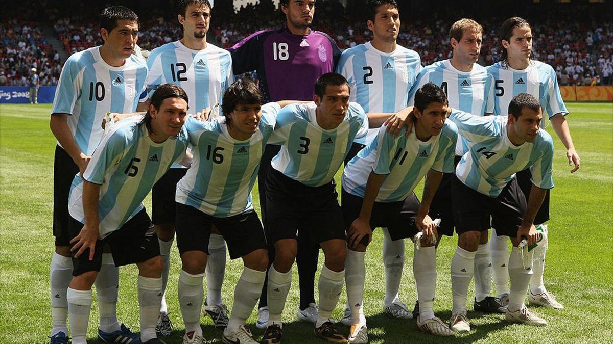 Teamfoto Argentinië 2008
