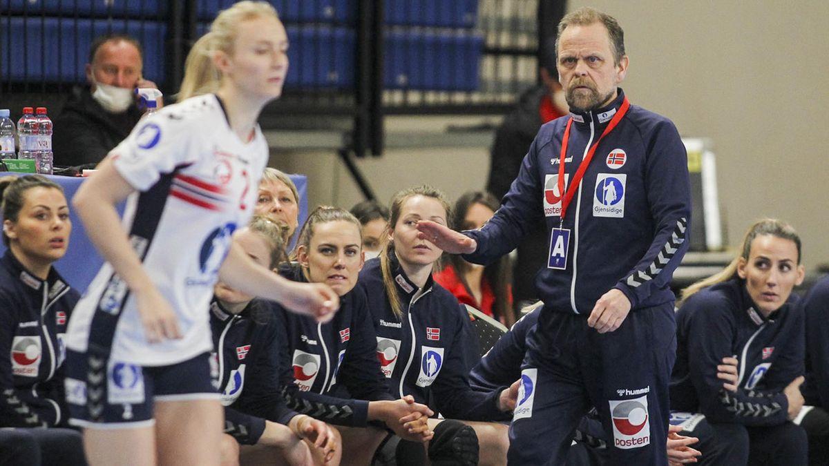 Hergeirsson overværer sitt Norge-lag