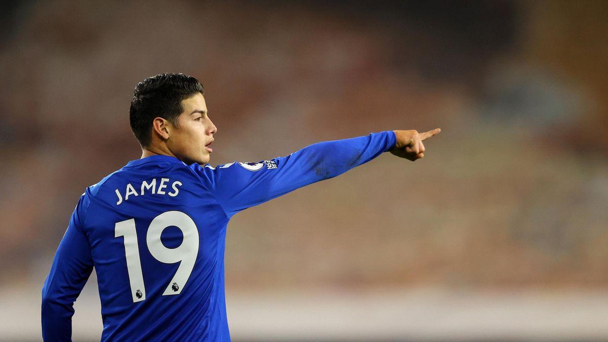 James Rodríguez vom FC Everton