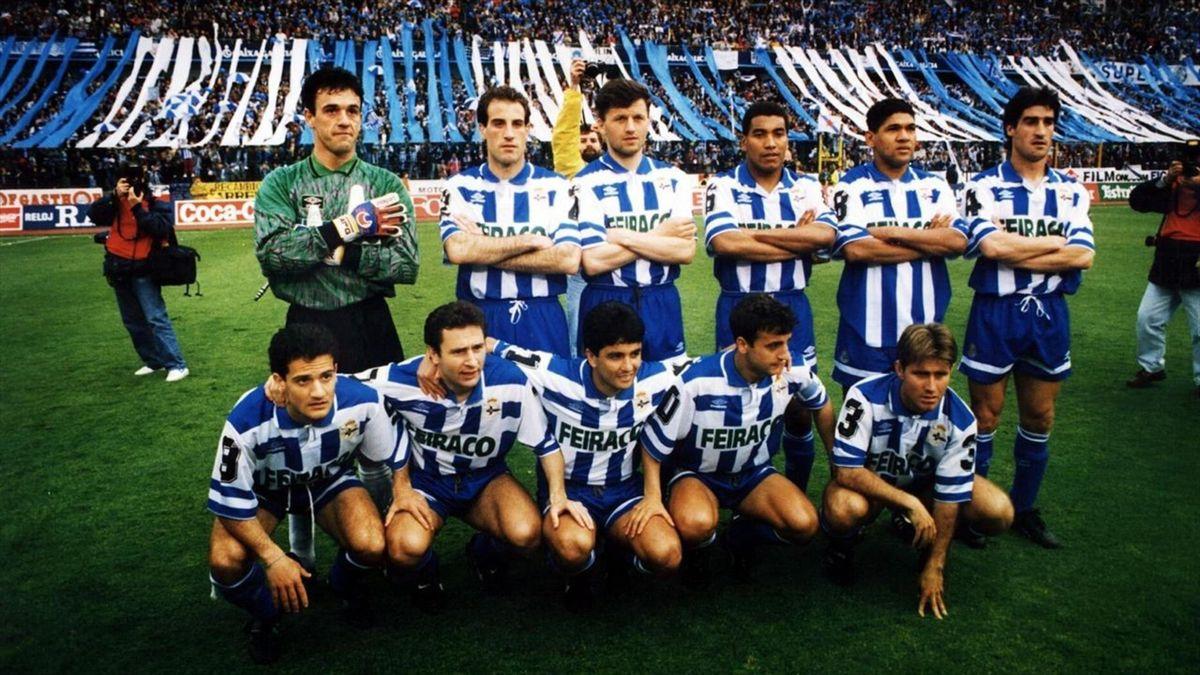 Deportivo de la Coruña 1993/94. FUENTE: César Quián (La Voz de Galicia)