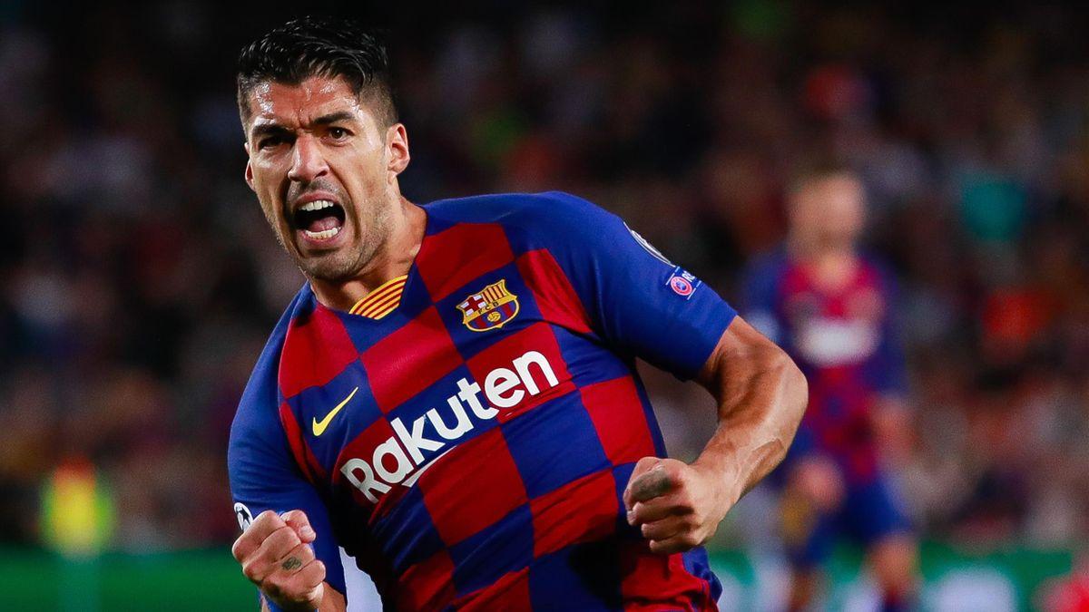Luis Suarez face à l'Inter