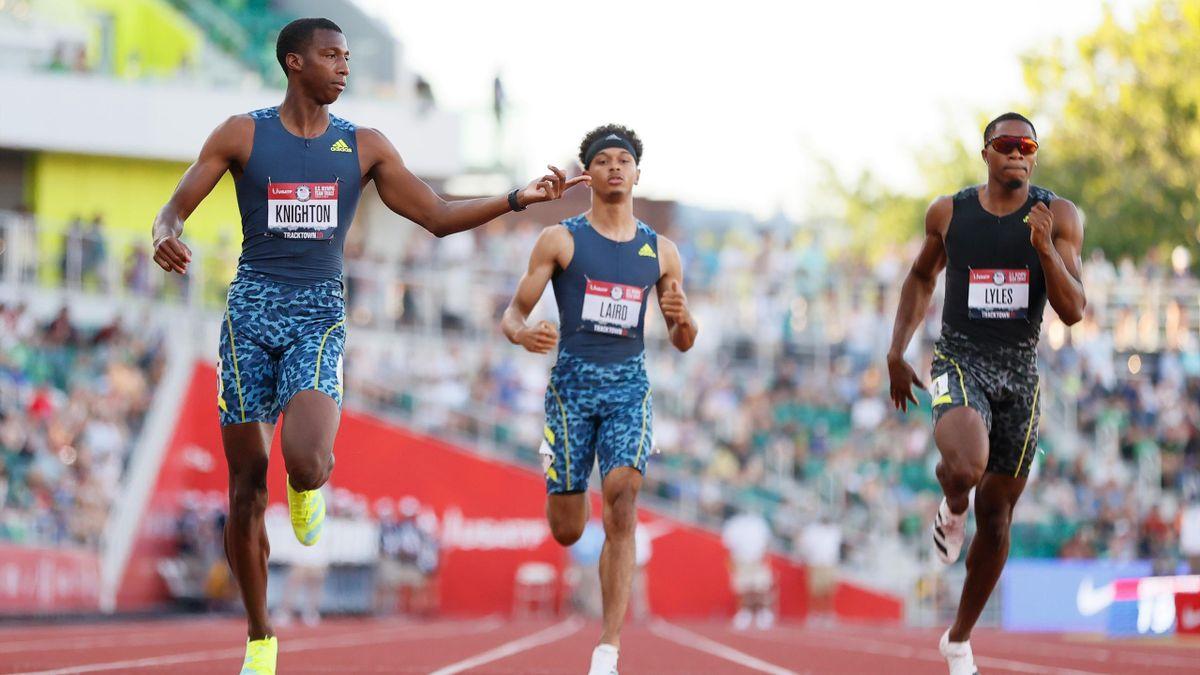 Erriyon Knighton, un tânăr sprinter incredibil