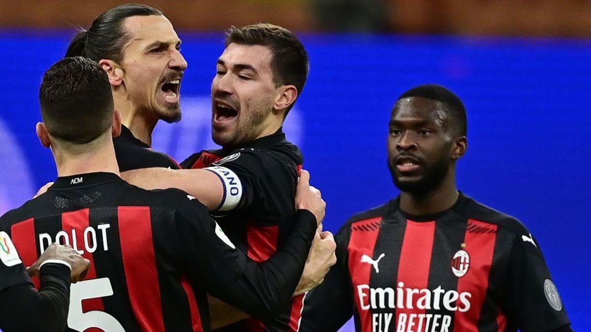 Zlatan Ibrahimovic - Inter-Milan - Coppa Italia 2020-2021