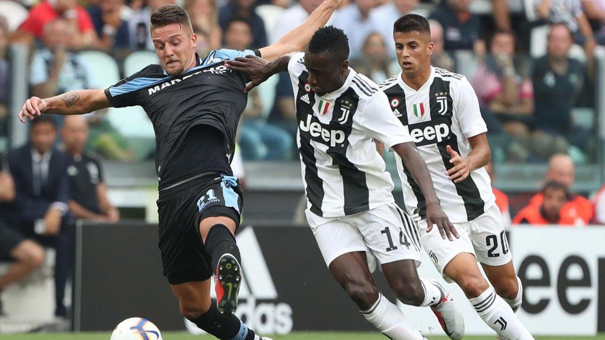 Milinkovic Savic, Matuidi - Juventus-Lazio - Serie A 2018/2019 - Getty Images