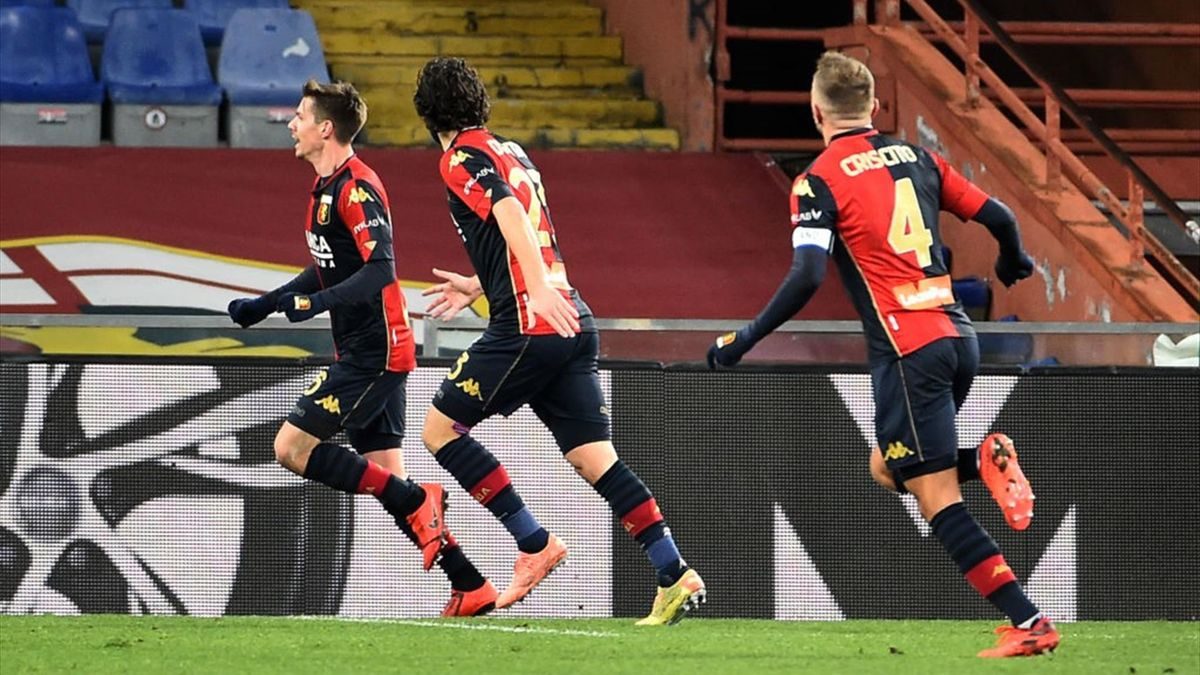 Zajc - Genoa-Bologna - Serie A 2020/2021 - Getty Images
