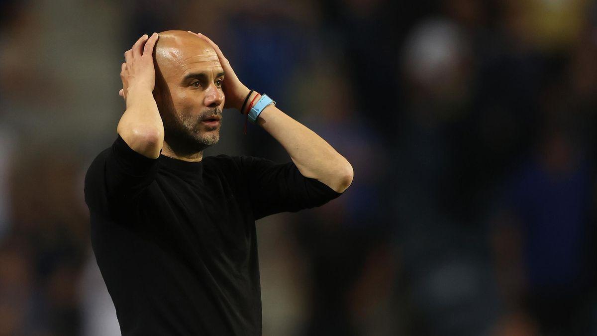 Pep Guardiola verlor mit Manchester City das Champions-League-Finale gegen Chelsea