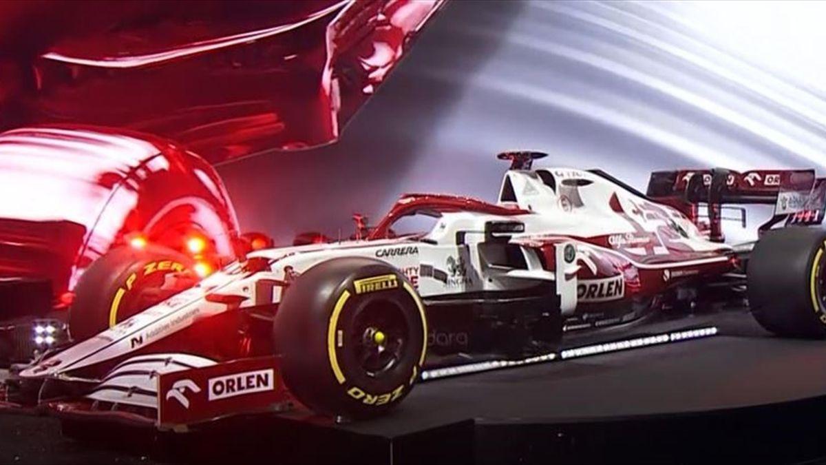 Mit dem C41 geht Alfa Romeo in der Formel-1-Saison 2021 ins Rennen