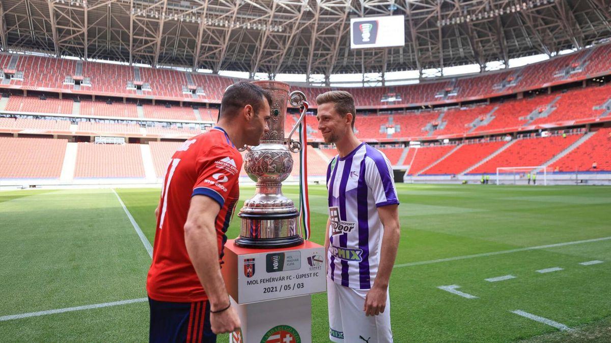 Fehérvár-Újpest a döntőben (Fotó: MLSZ)