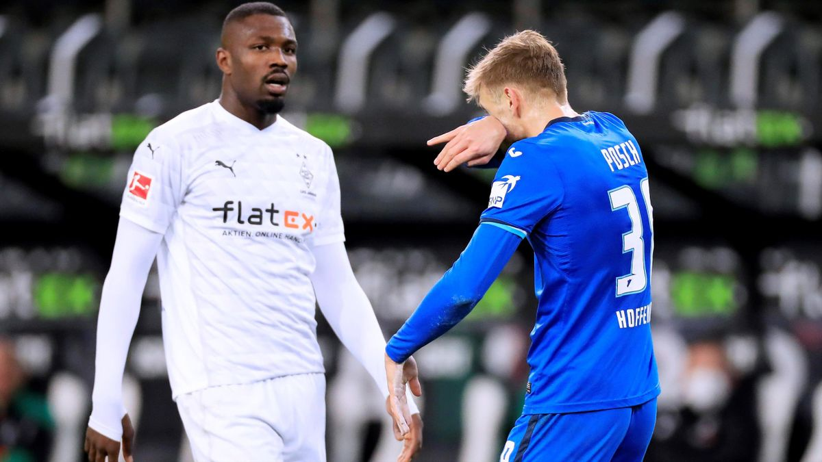 Marcus Thuram Borussia Moenchengladbach - Hoffenheim