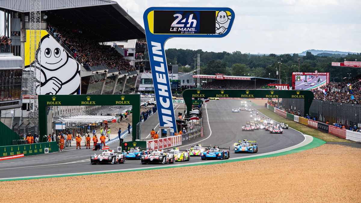 Le départ des 24 Heures du Mans 2019