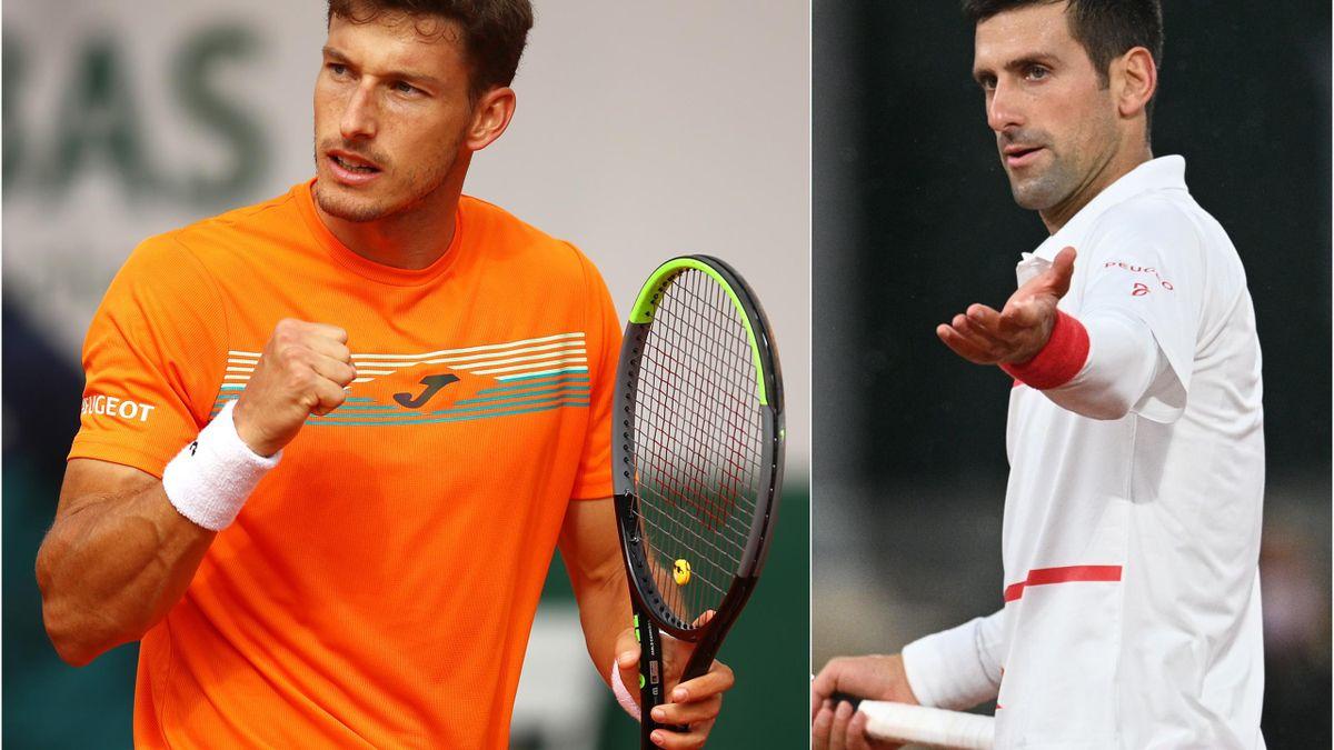 Novak Djokovic & Pablo Carreno-Busta