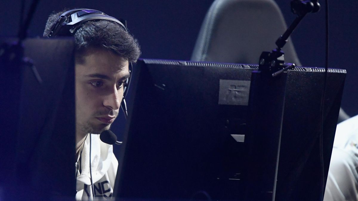 "Thomas ""ZooMaa"" Paparatto en compétition, le 25 janvier 2020 à Minneapolis."