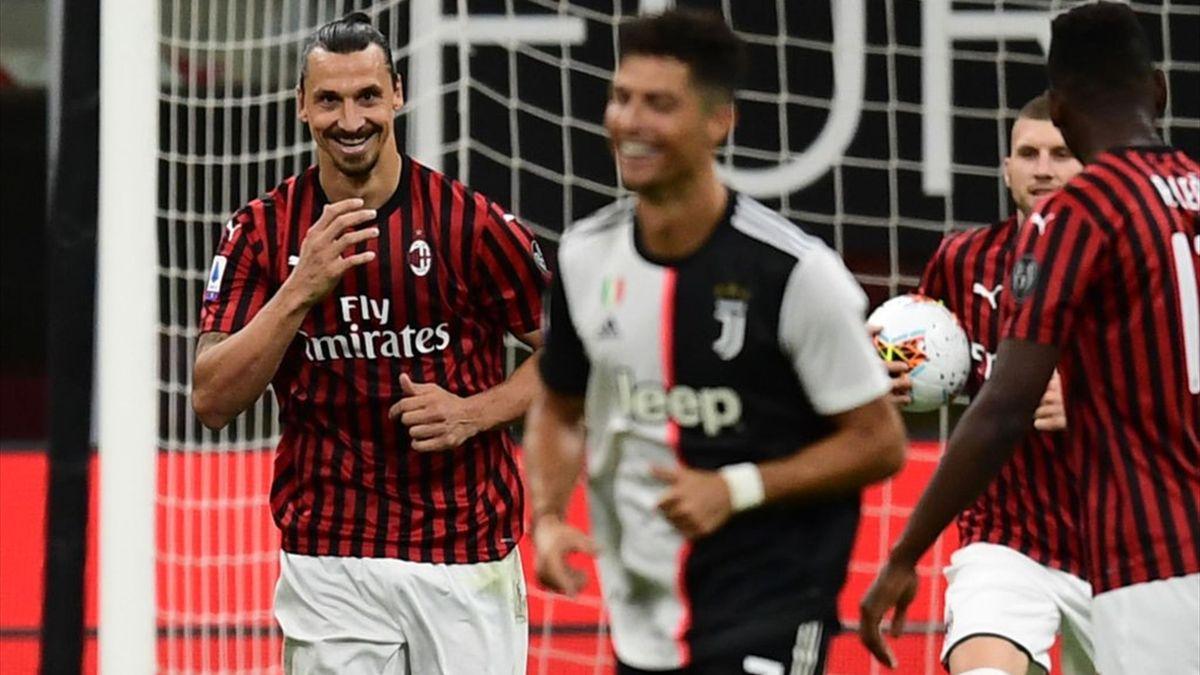 Serie A   AC Milan - Juventus 4-2