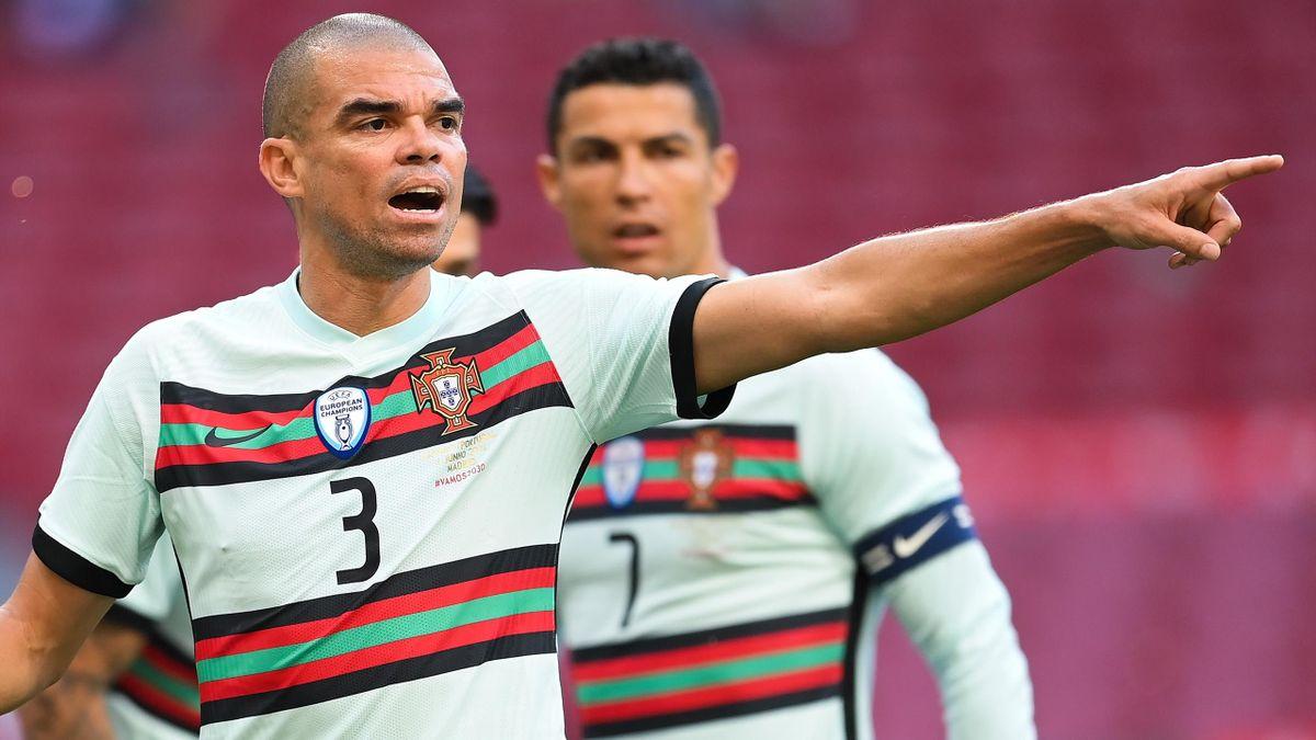Pepe tient toujours les rênes de la défense portugaise, 14 ans après ses débuts en sélection