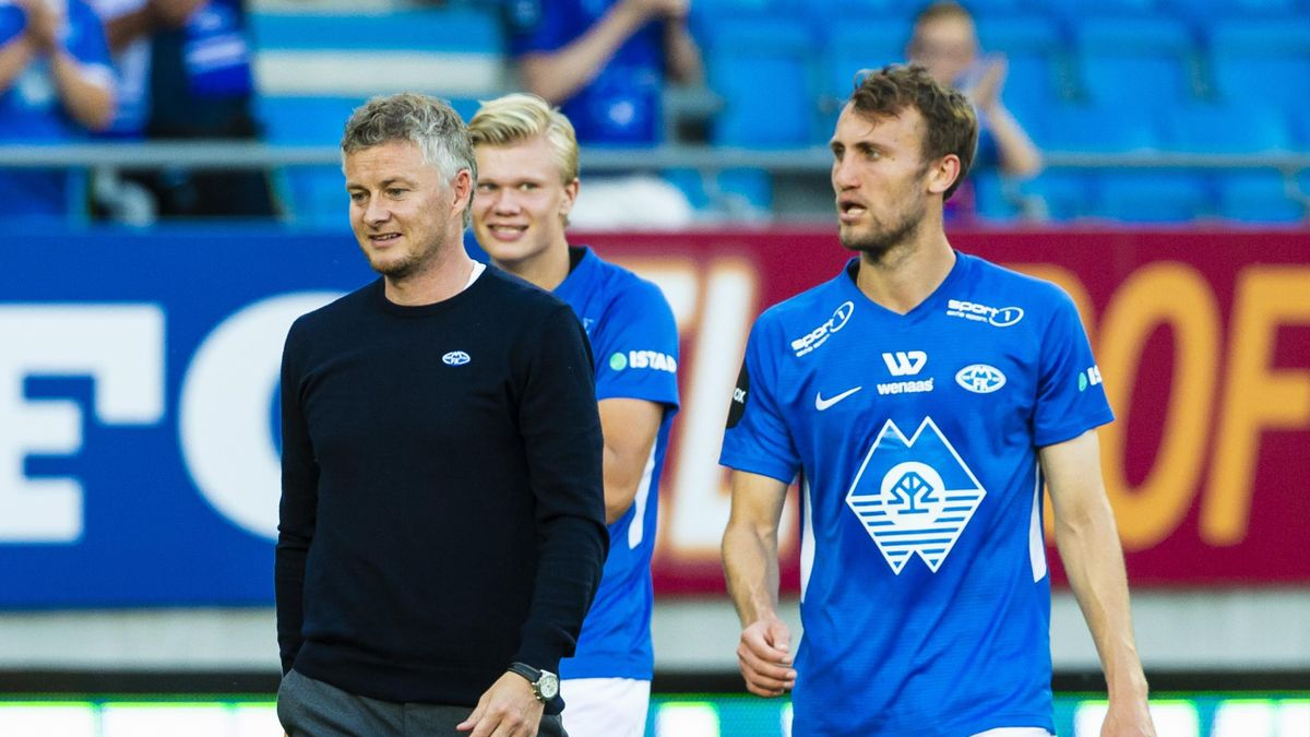 Ole Gunnar Solskjær og Magnus Wolff Eikrem