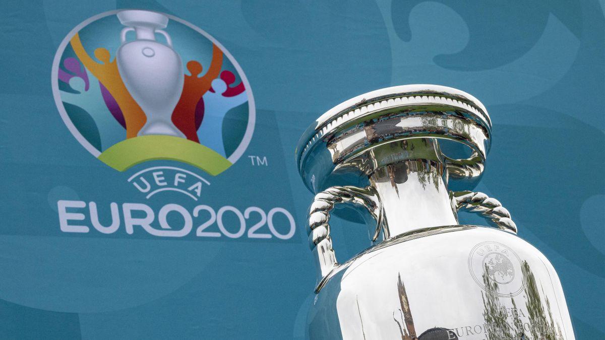 Le trophée de l'Euro 2020