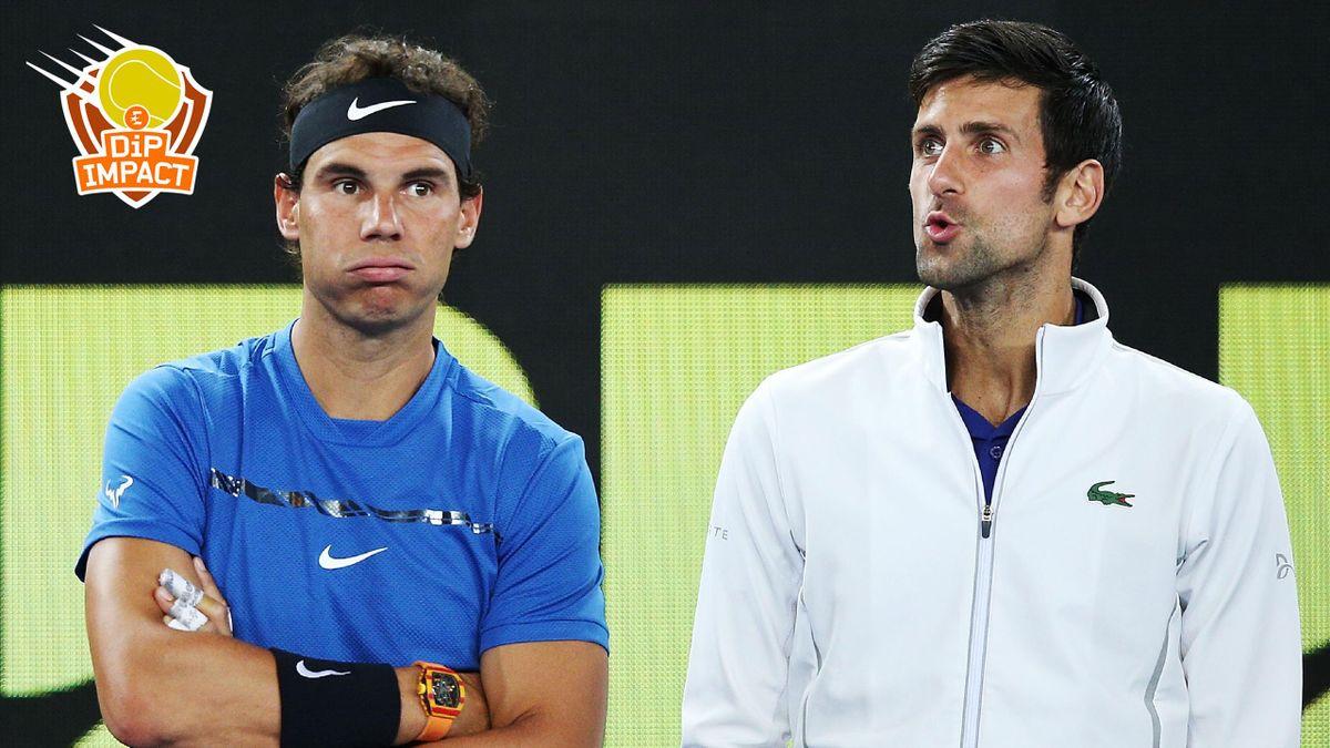 Nadal Djokovic - Dip Impact