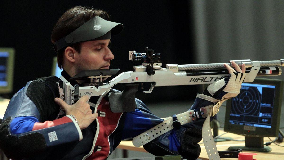 Cédric Fèvre-Chevalier aux championnats d'Europe paralympiques de tir en 2018