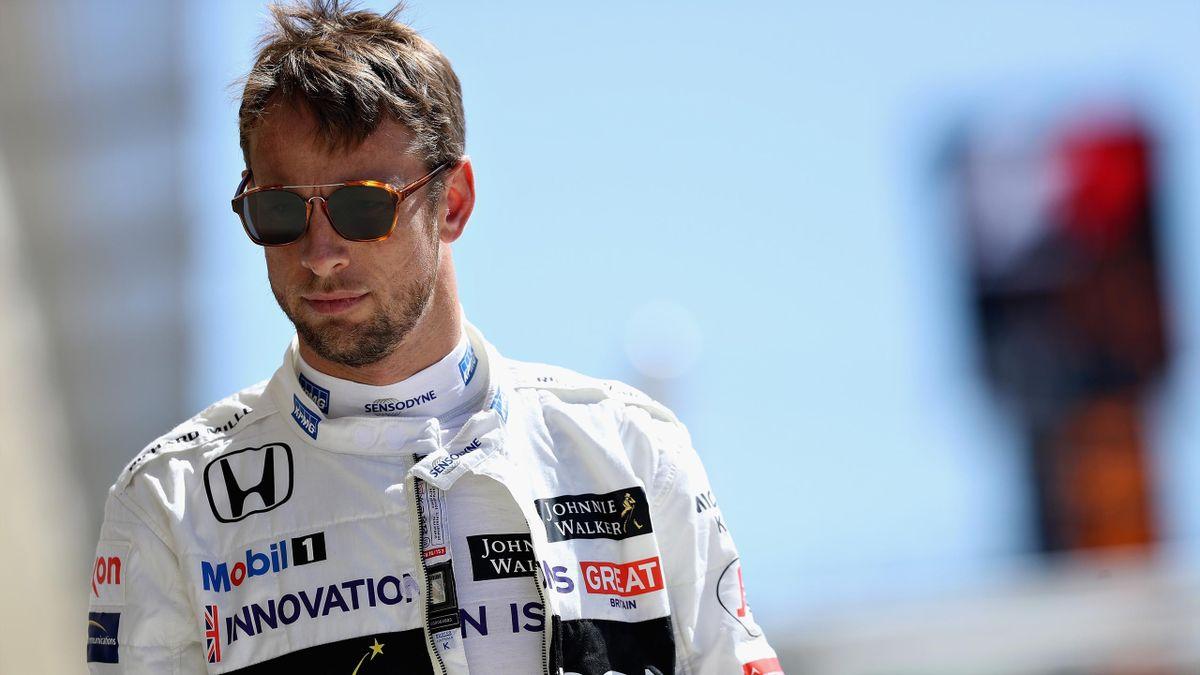 A pensive Jenson Button
