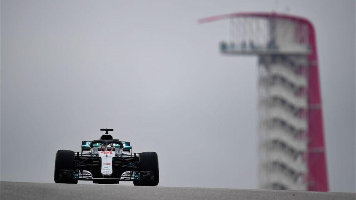 Lewis Hamilton, Mercedes AMG Petronas F1 Team Mercedes - USA Formula 1 Grand Prix 2018 - Getty Images