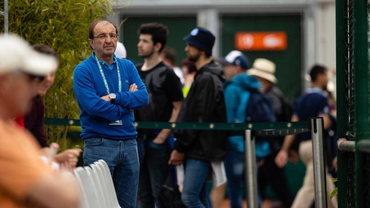 Louis Borfiga à Roland-Garros 2019