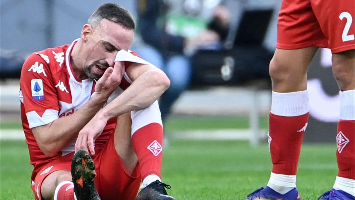 Ribery - Lazio-Fiorentina - Serie A 2020/2021 - Getty Images