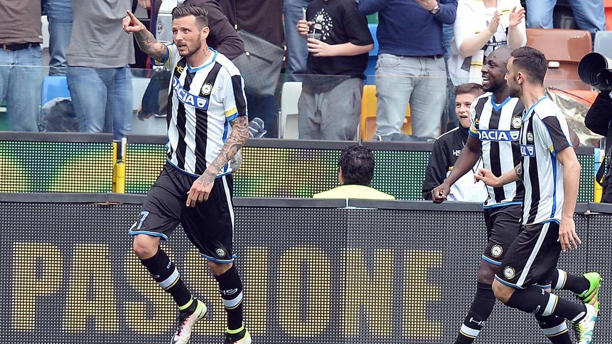 Cyril Thereau Udinese Napoli 2016