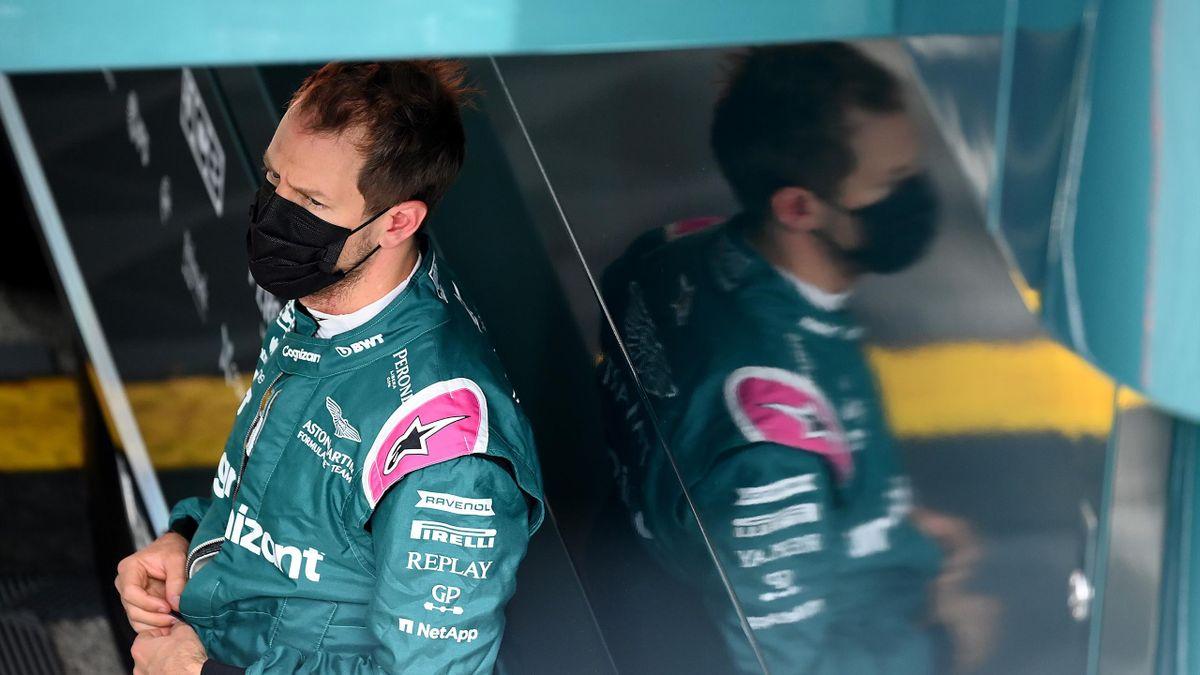 Sebastian Vettel in Imola