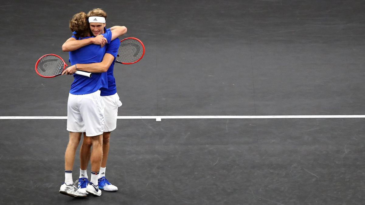 Highlights: Rublev and Zverev wrap up Laver Cup success for Team Europe