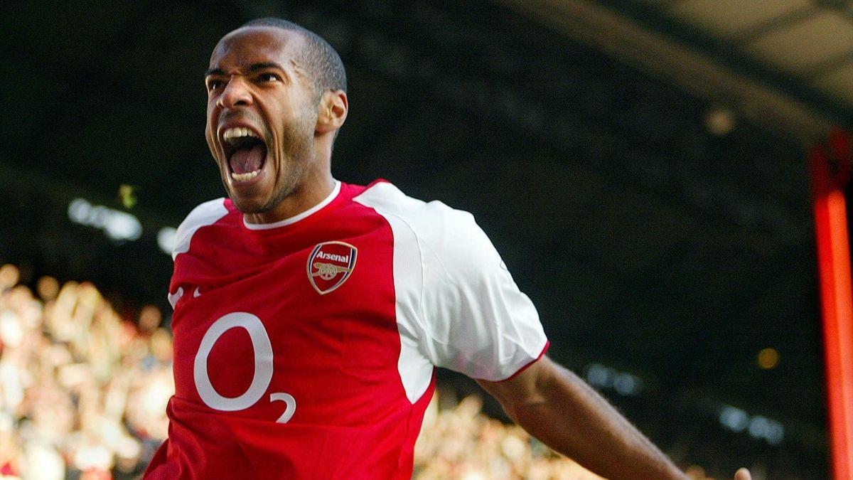 Thierry Henry hurle sa rage avec Arsenal