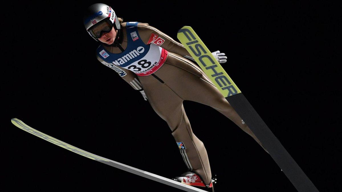 Maren Lundby in Lillehammer
