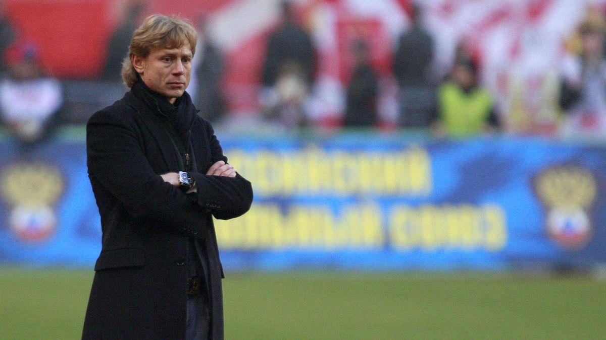 Валерий Карпин во время работы в «Спартаке» (2009 год)