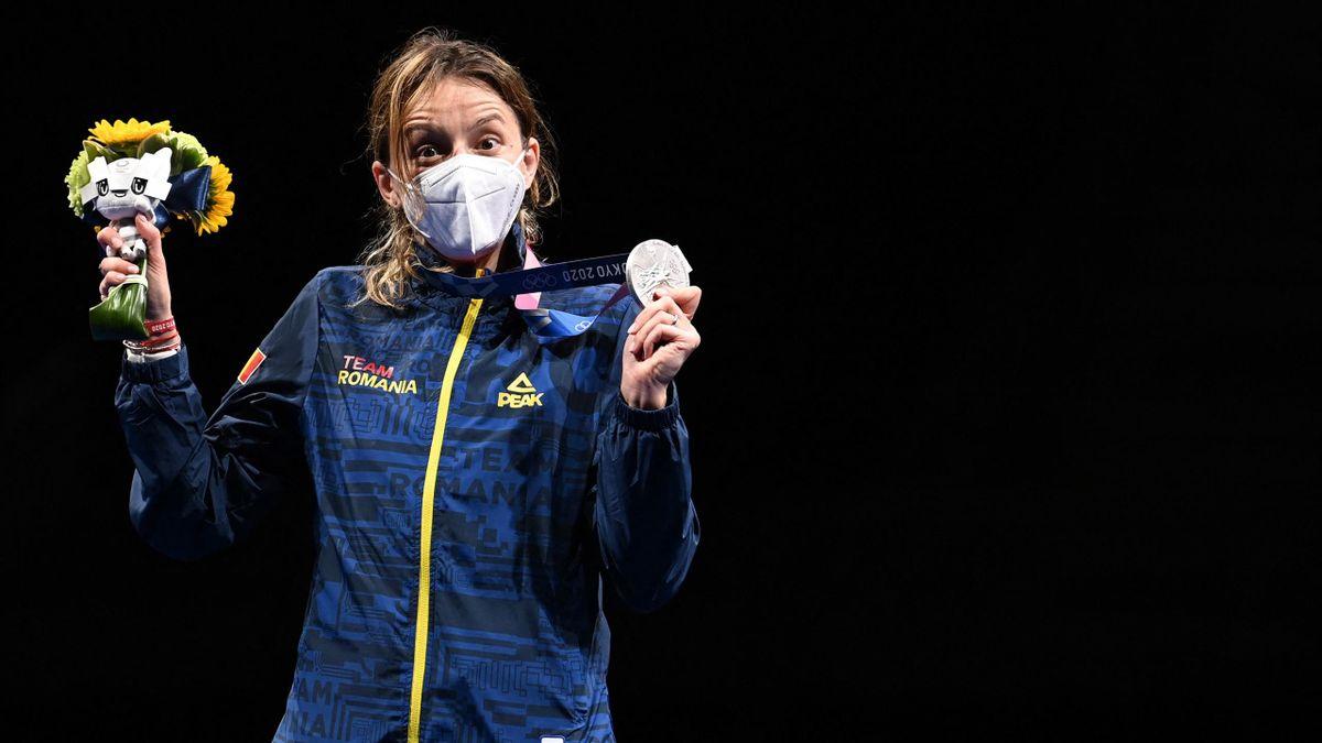 Ana Maria Popescu, medaliată cu argint la Jocurile Olimpice de la Tokyo