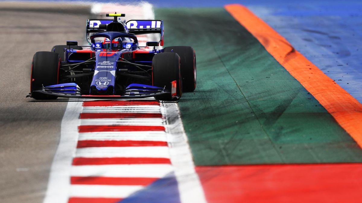 Pierre Gasly (Toro Rosso) au Grand Prix de Russie 2019