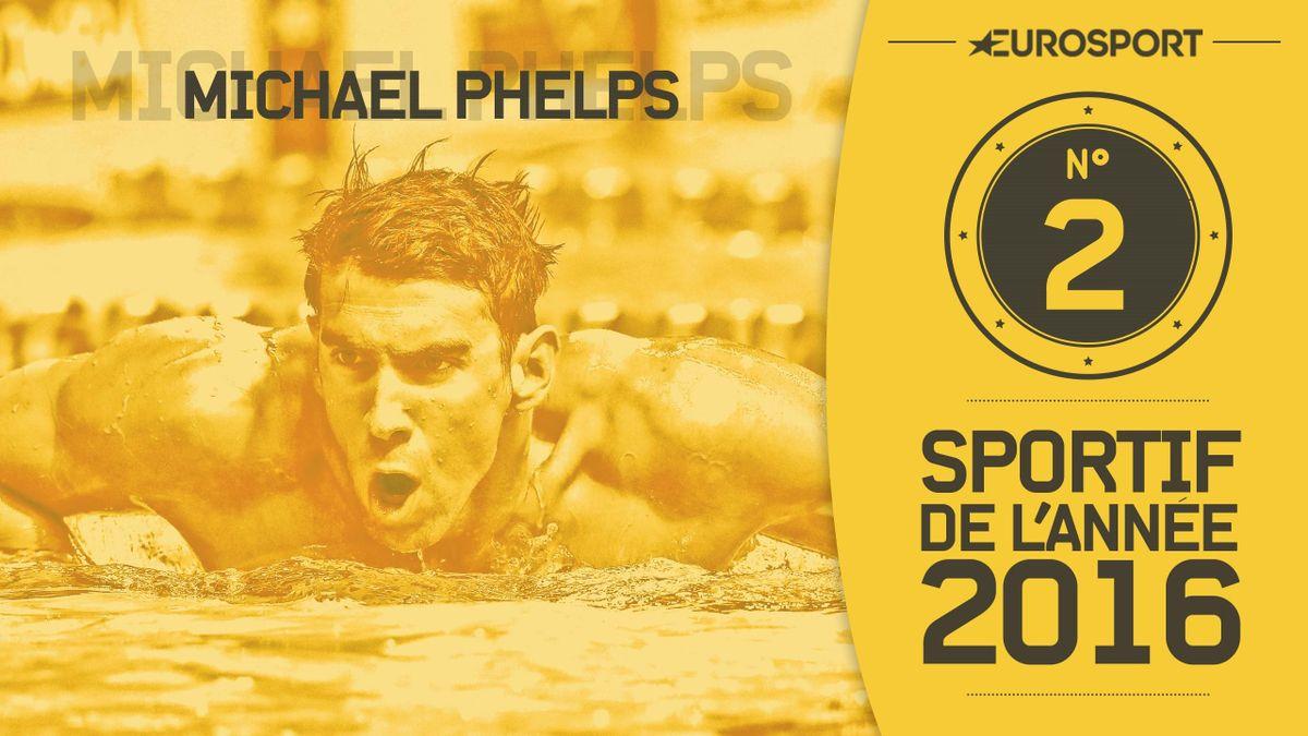 Michael Phelps, 2e de notre classement des meilleurs athlètes 2016
