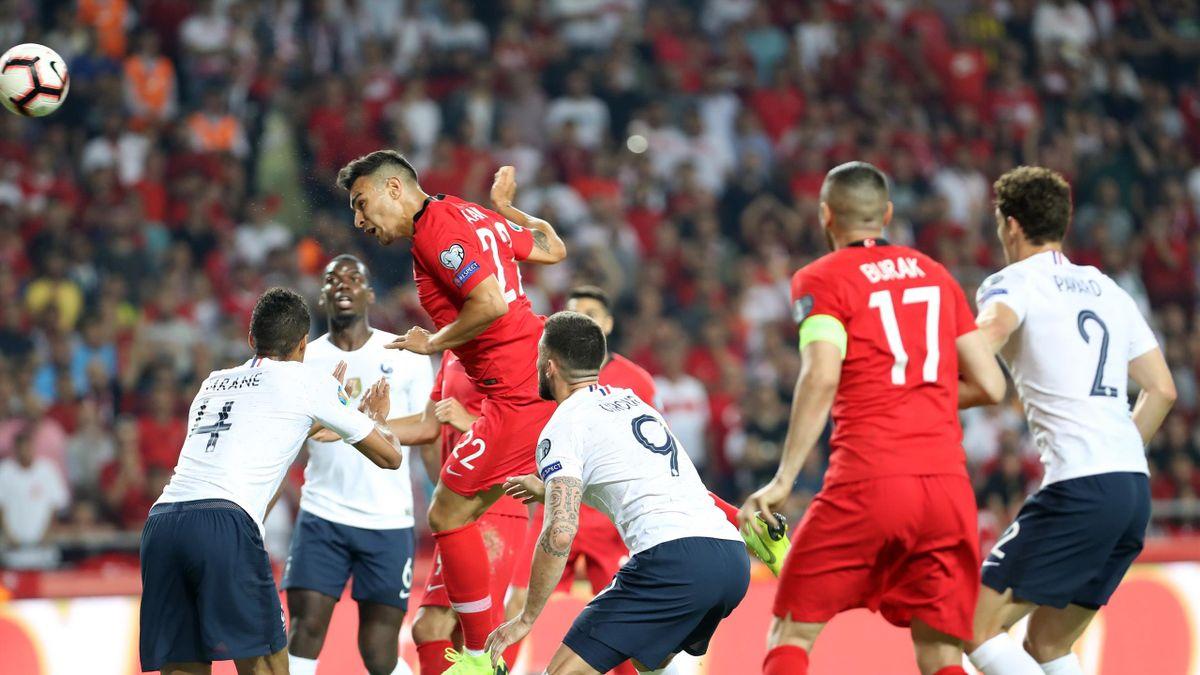 Kaan Ayhan (Türkiye) vs Fransa